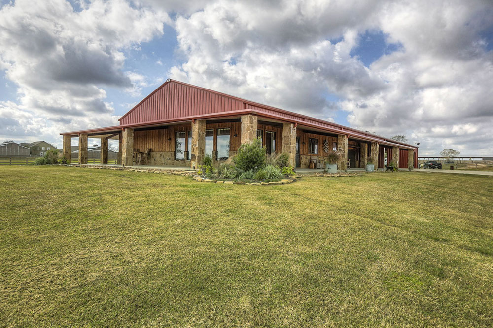custom barndominiums, waller, texas